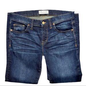 Madewell Skinny Skinny Crop Jeans Size 28 Blue